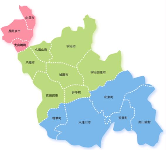 山城地域の紹介/京都府ホームページ